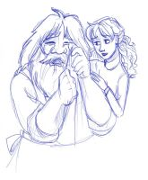 06_11 Making Up With Hagrid by kuabci
