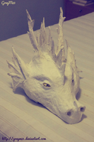 Dragon head without paint - preview by GreyM83