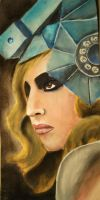 Lady Gaga Portrait. Telephone. by Elinfly