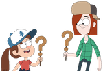 Gravity Falls Rule 63: William and Dana by Stinkfly3