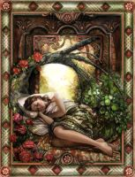 Sleeping Beauty Colored by PinkParasol