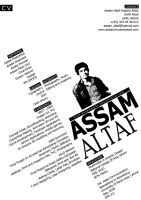 MY GRAPHIC DESIGN CV by AssamART