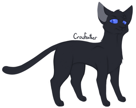 [100 WARRIOR CATS CHALLENGE] #22 - Crowfeather by toboe5tails