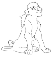 Pretty lioness [Base] by Drawing-Silversky
