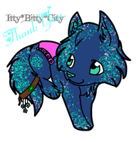 Thank You - TitanEclipse: Forget-Me-Not by Whispered-Time