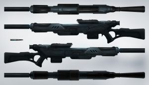SA - equipment Sniper Rifle by Count-one