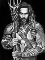 Aquaman painting by pieyow