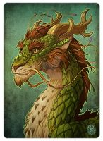 Forest dragon by gugu-troll