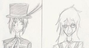 Grell and Drocell by Moronic-Muffin