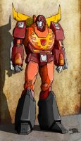 Rodimus by VaderPrime1