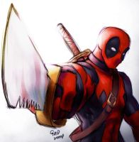 Deadpool for LechucksCurse101 by gndagnor