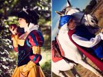 Snow white and Prince Florian by LeydaCosplay