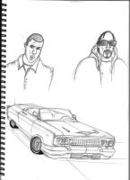 GANGSTA and IMPALA by ShadowSnake67