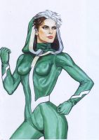 Rogue Water Color by deemonHunter360