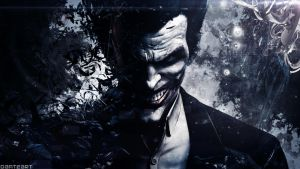 Batman Arkham Origins Joker Wallpaper by DanteArtWallpapers
