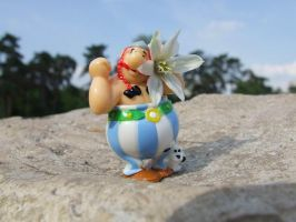 obelix and druid by Cab-GdL