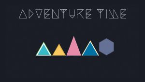 Geometric Adventure Time (wallpaper) by DmitryKryndach