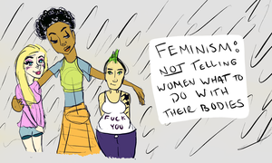 Feminism by alieangeles