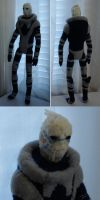 Custom plush - Garrus by silentorchid