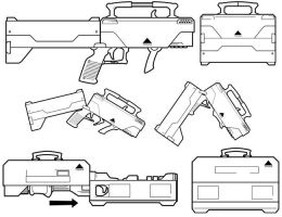 Triax Suitcase Guns by BrianManning