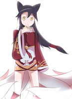 Ahri: Steamed Bun by Phibonnachee