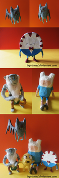 Adventure Time Figurines by Inprismed