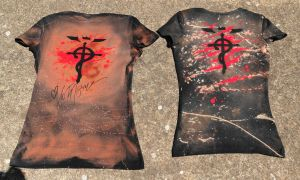Team Edward Elric Shirt comparison-back by Kiku-Goldenflower