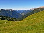 View of Fassa Valley by Sergiba