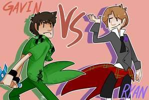 Gavin Vs Ryan by EllaMRed