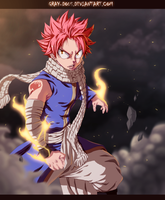 Fairy Tail 432 - Natsu Dragneel by Gray-Dous