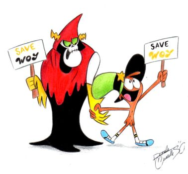 Save Woy - Hater and Wander by danysilva13