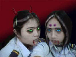 Zombies ahihi... by margemagtoto