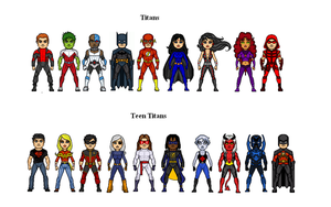 Teen Titans by Facumagia