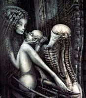 H. R. Giger XXV by CamillOnline