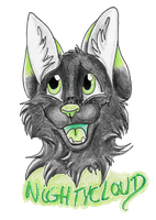 Badge Nightycloud - Commish Naturama #1 by Nakouwolf