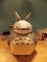 Epic Totoro Papercraft! by whipsersoftheworld