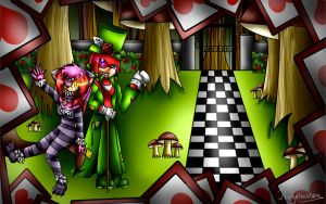 .:Welcome to Wonderland:. by Kathy-the-echidna