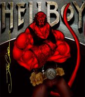 HELLBOY POSTER by vandalocomics