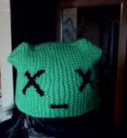 i knitted a hat by Junko-Ishi