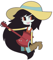 Adventure Time - Marceline by nekozneko