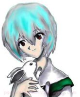 Rei and Bunny by peeps4tea