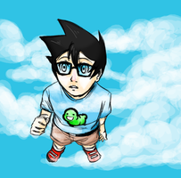 The boy from the sky by Naikoworld
