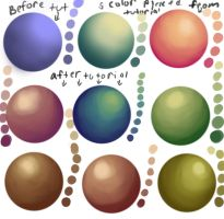 Color bending study by Angel-Neviah