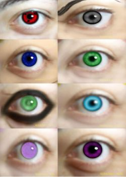 realistic naruto eye's by AXEL464