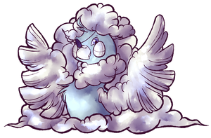 Mega Altaria by corgiknight