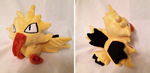 Zapdos Pokedoll by GlacideaDay
