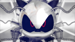 Metal Sonic Prototype by darkfailure