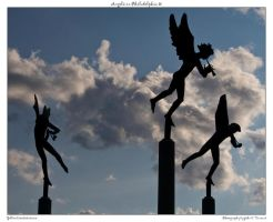Angels in Philadelphia 10 by yellowcaseartist