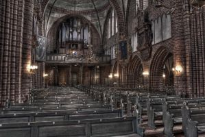 The Devils' Church by Harlekin-Photos