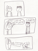 Push Comic by Dnell